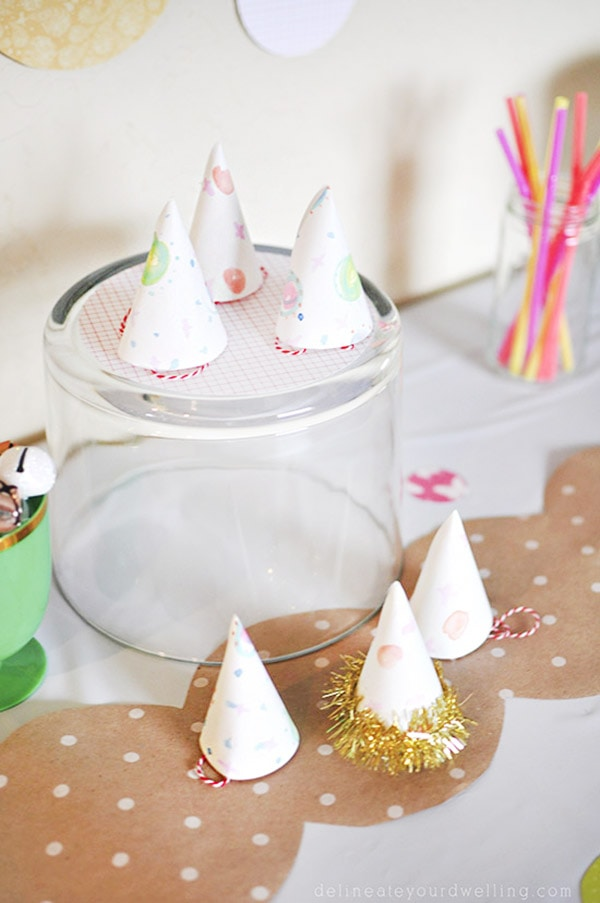 Sprinkle Bday Party Hats