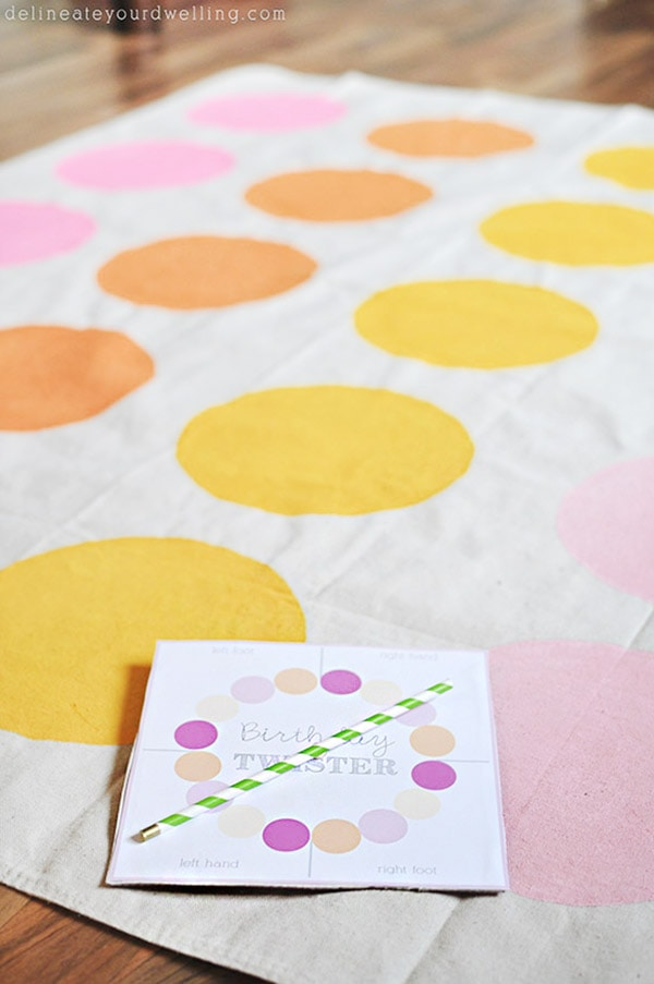 How to make a custom DIY Twister mat and game