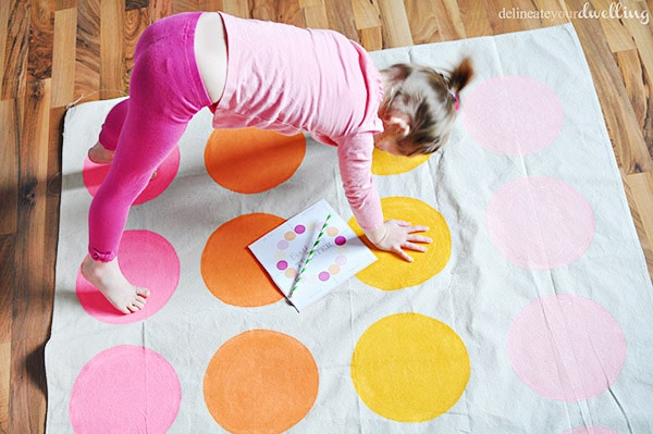 Sprinkle Party twister game