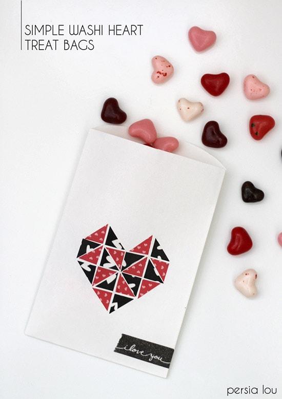valentine washi treat sack 2