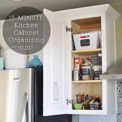 1b Kitchen Cabinet Organize