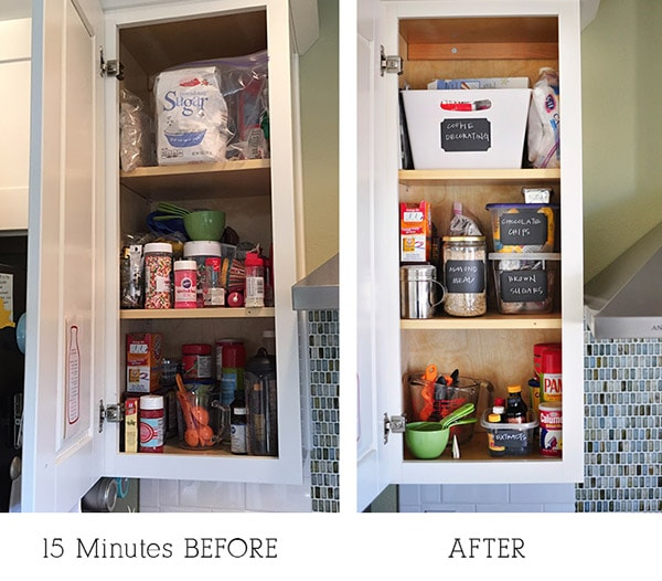 Kitchen Cabinet BEFORE-AFTER