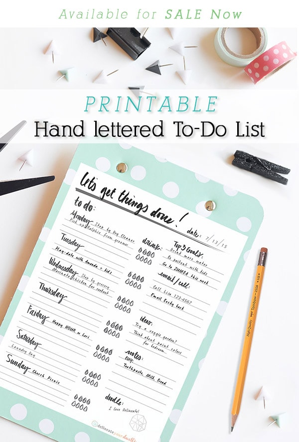 To-Do List Clipboard-forsale
