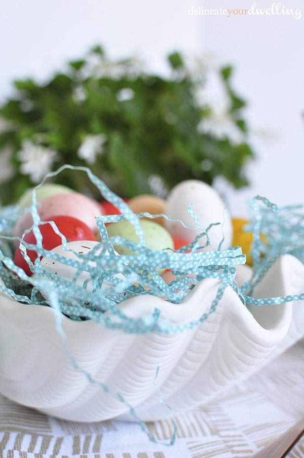 Easy Spring Table Setting Eggs, Delineateyourdwelling.com