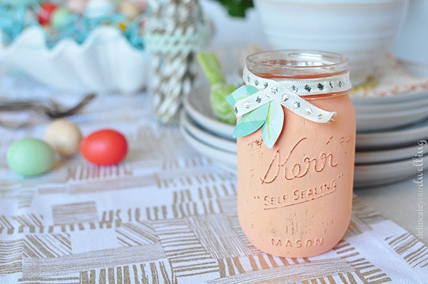 Spring Table Jar, Delineateyourdwelling.com
