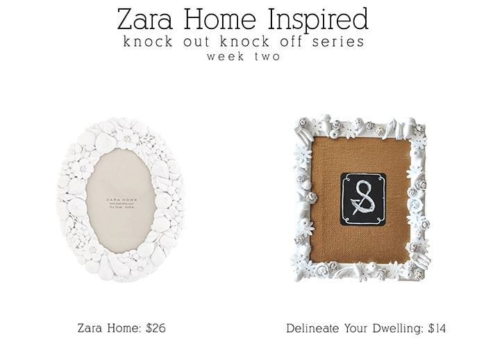 1 zara home picture frame | delineateyourdwelling.com