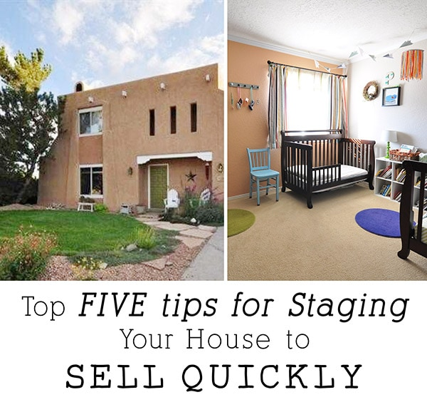 five tips for staging your house to sell quickly free
