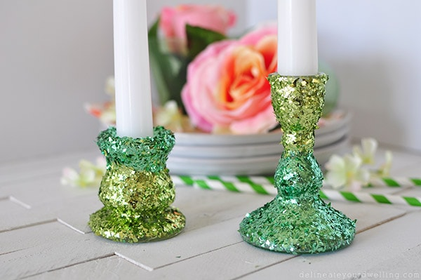 2 Toned Candle Holder