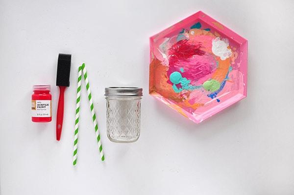 Apple Mason Jar supplies