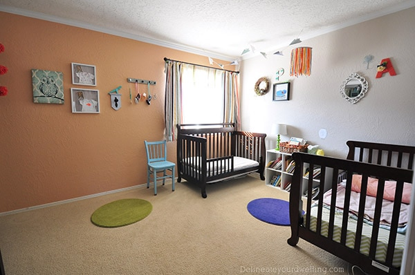 Staging Your House to Sell-Light in, Nursery