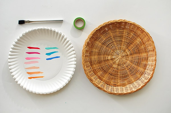 Bohemian Charger Plate supplies, boho summer