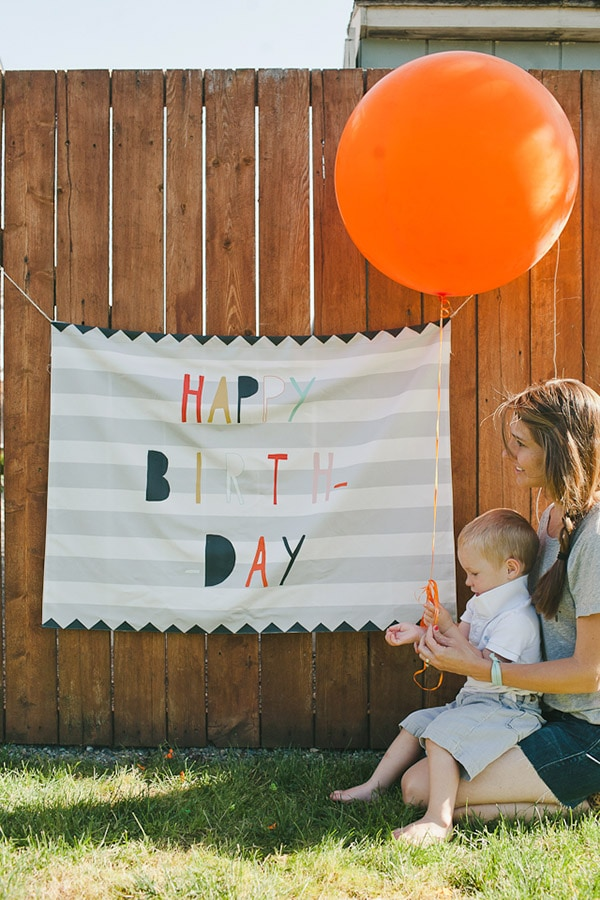 Fabric Celebration Banner, Feature Friday