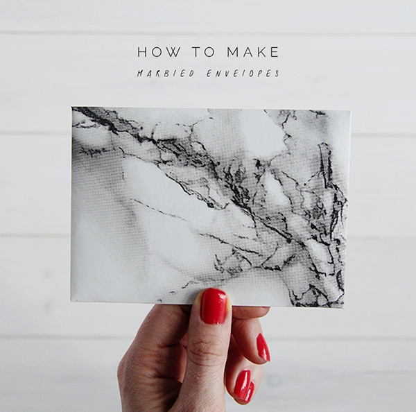 Fall-For-DIY-How-to-Make-Marbled-Envelopes, Feature Friday