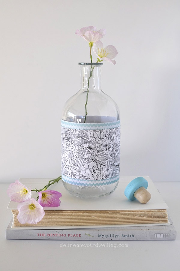Glass Vase flowers