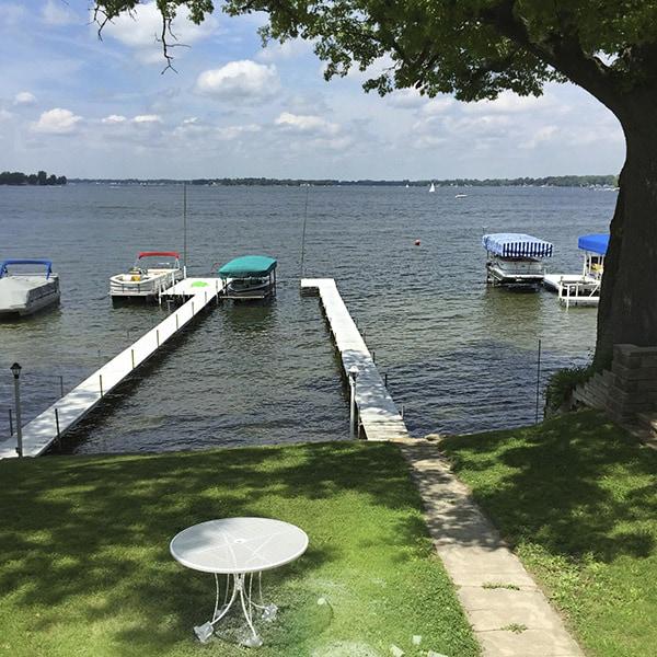 Wawasee House lake