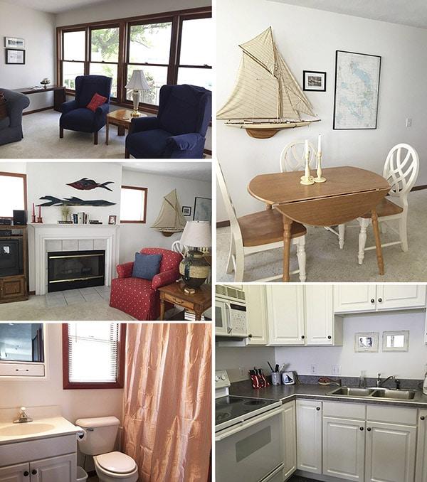 Wawasee House room