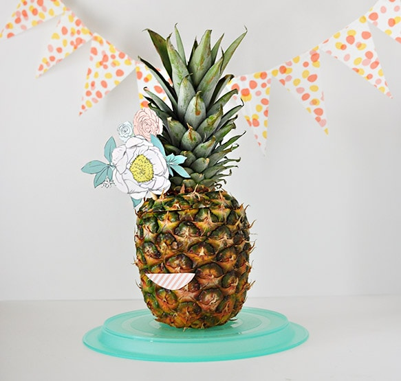 A Fun Way To Use Pineapples As Party Decor