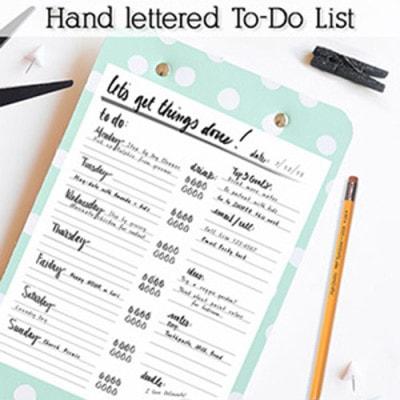 1 To-Do List Clipboard