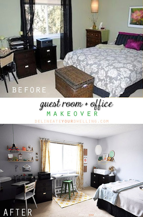 My Favorite Office + Guest Room Space, Delineateyourdwelling.com