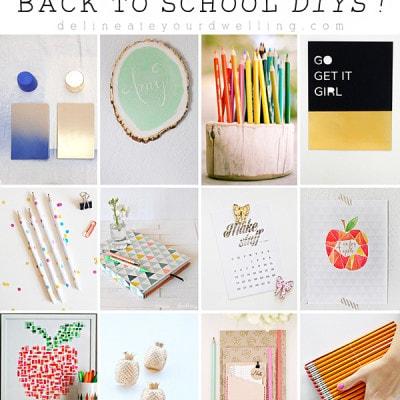 20 Amazing Back to School DIYs