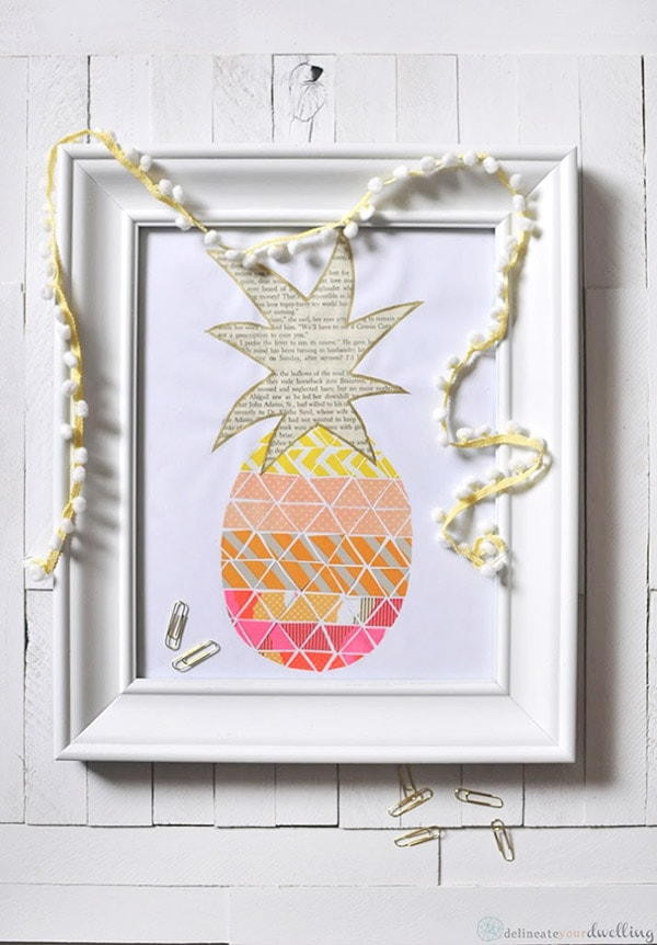 Pineapple-Print-Delineate-Your-Dwelling