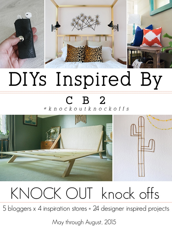 Easy Cacti Wall Decor Inspired DIYs By CB2