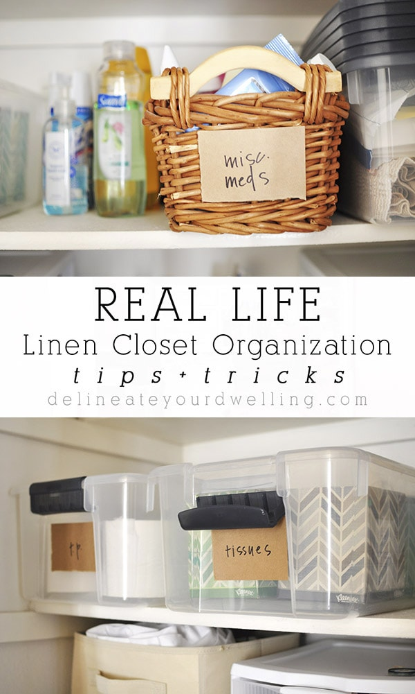 Linen Closet Organization Tips Delineateyourdwelling