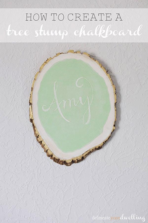 Tree-Stump-Chalkboard