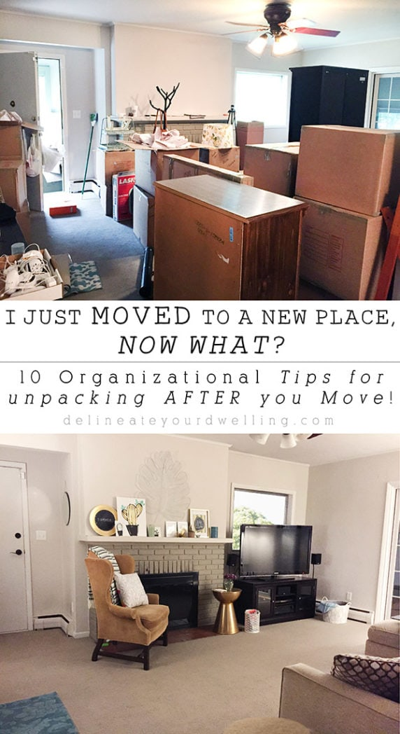 10 Organizational Tips for Unpacking After a Move, Delineateyourdwelling.com