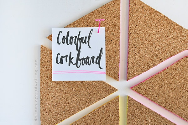 Colorful Corkboard