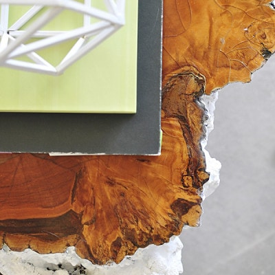 Tree Stump Table details