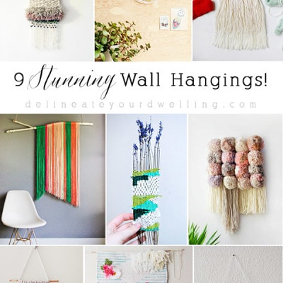 9 Wall Weaving Hangings Roundup, Delineateyourdwelling.com
