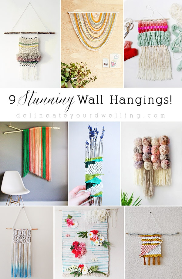 Stunning Wall Weavings and Wall Hangings
