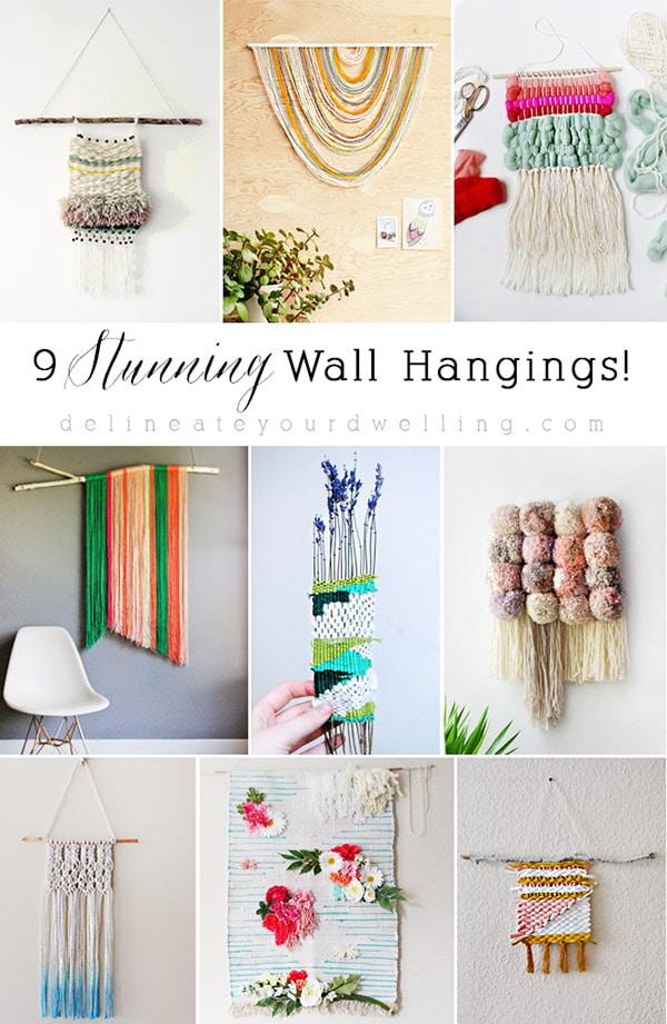 9 Wall Weaving Hangings Roundup, Delineateyourdwelling.com