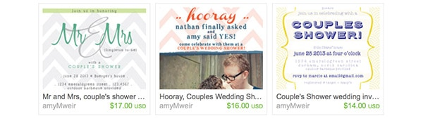 Delineate ETSY bday wedding