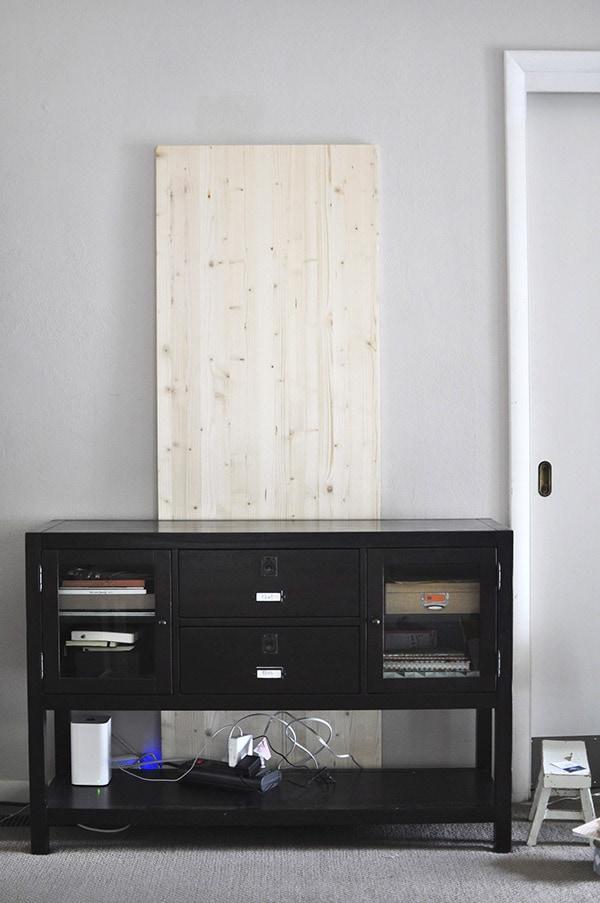 Wood Memo Board
