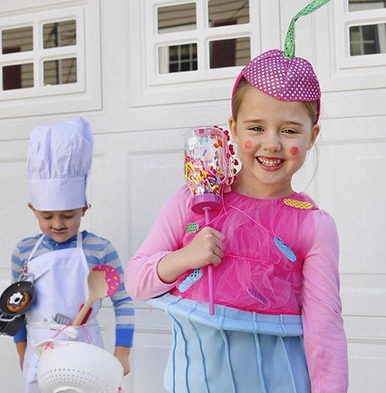 1 Baker-Cupcake Halloween Costume