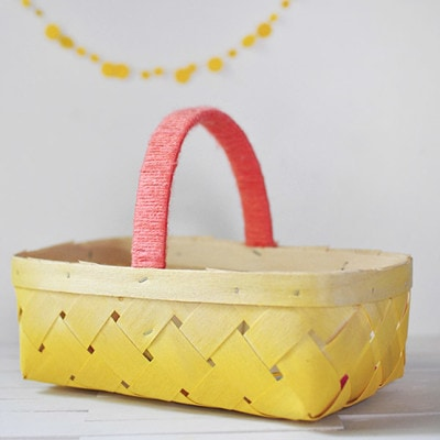 1b DIY Ombre Basket