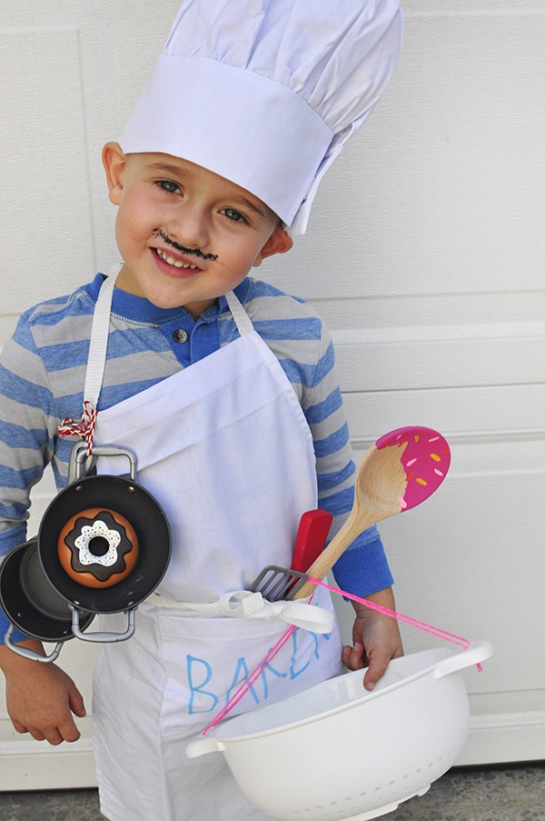 Kid Baker Costume Halloween
