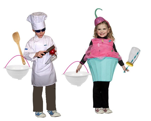 Baker and Cupcake Costumes