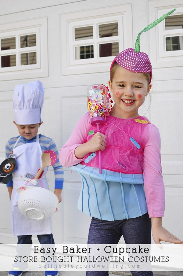 Baker Costume and Cupcake Costume