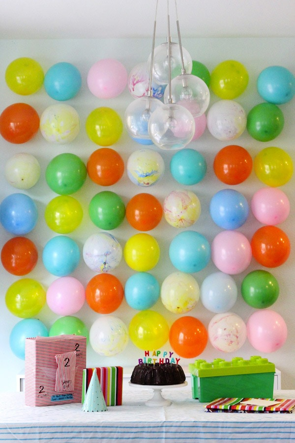Balloon Backdrop Party Feature Friday