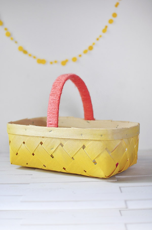 DIY Ombre Basket4