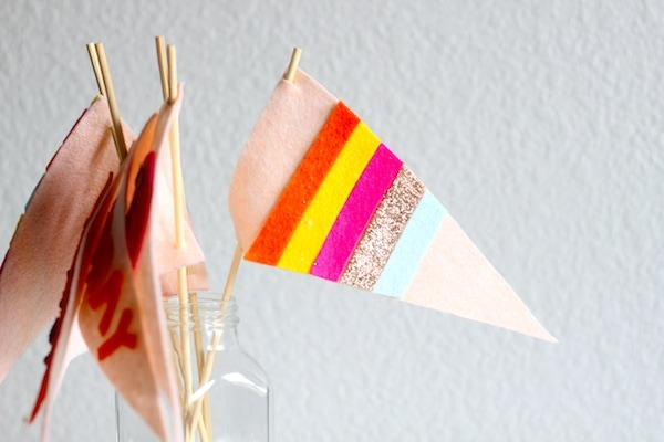 Felt Party Flags Feature Friday