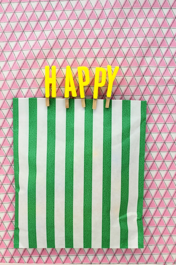 Letter Bag Topper Feature Friday