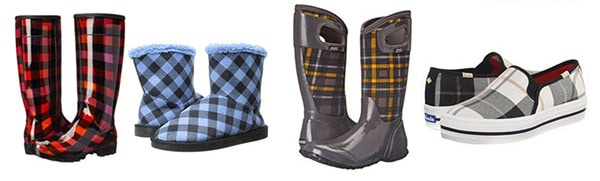 Must Have Plaid Items- Shoes