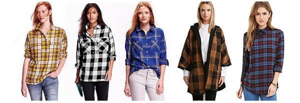 Must Have Plaid Items- Tops