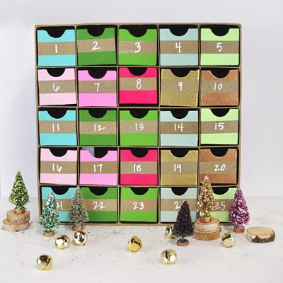 1 Colorful Advent Calendar