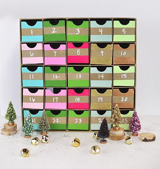 1 Colorful Advent Calendar