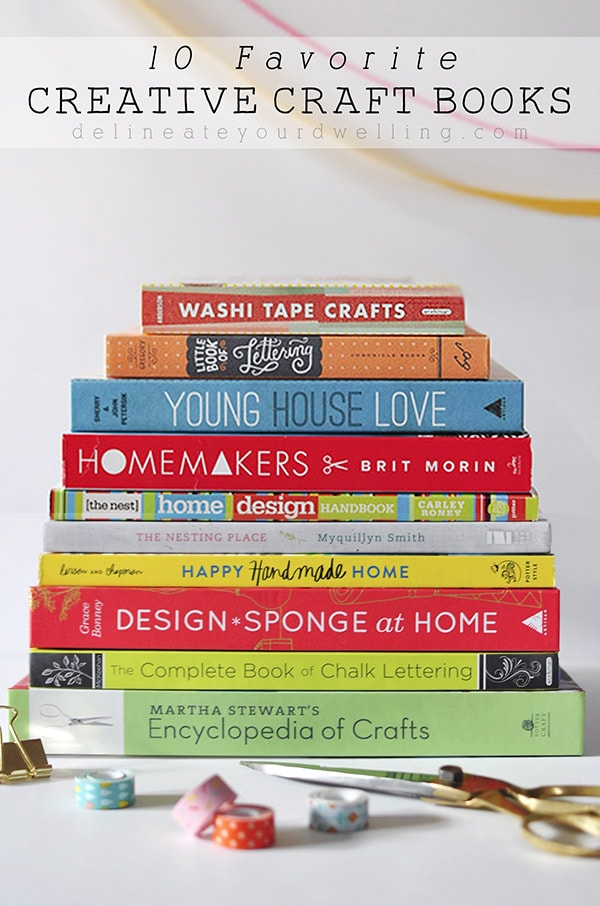 10 Favorite Creative Craft Books